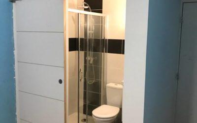 Chantier rénovation salle de bain Toulouse / Luchon